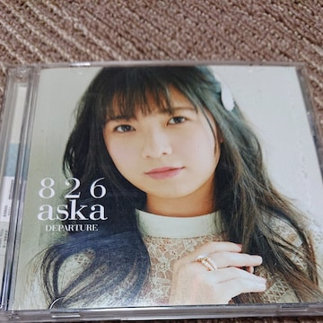 CD DVD 826aska DEPARTURE 2枚組