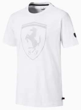 新品)PUMAプーマ・フェラーリビッグシールドTシャツ Lサイズ