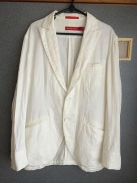 boycott オフホワイト テーラードジャケット 薄手 ジャケット