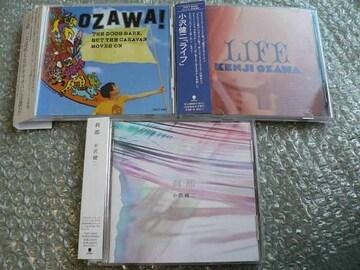 小沢健二[犬は吠えるがキャラバンは進む/LIFE/刹那]アルバム3枚