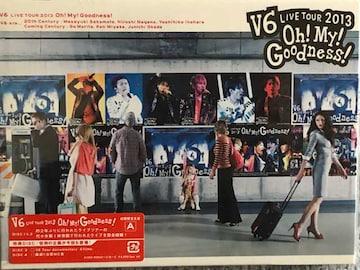 激レア☆V6/LIVETOUR2013oh!My!Goodness☆初回盤A/DVD4枚組/新品