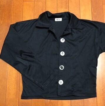 黒☆薄手ジャケット