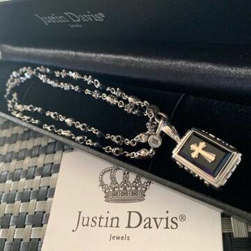 新品◆JUSTIN DAVIS◆クロスネックレスセット◆60cm◆125,400円