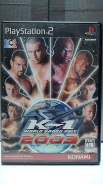PS2 K-1 WORLD GRAND PRIX 2003
