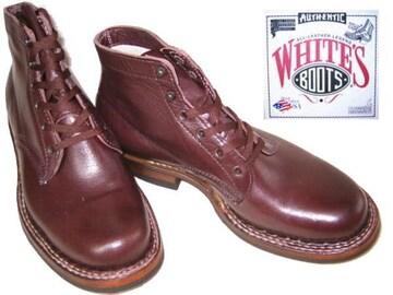 ホワイツ ブーツ ビブラムソール2332Wセミドレス黒チェリ8