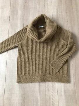 LEPSIM暖かニットセーターF首元2way