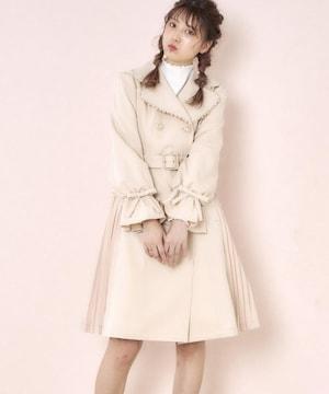 ☆ロディスポットキャンディースリーブプリーツトレンチコート☆