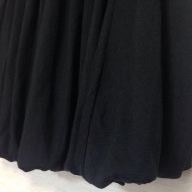 bebe be equivalent◆ブラック 黒 バルーン ミニスカート M < 女性ファッションの