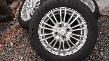 175/65R14 4本セット バリ山 美品 フィット、デミオ、ヴィッツ