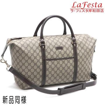 本物新品同様◆グッチ【人気】GG柄ボストンバッグ(旅行用バッグ