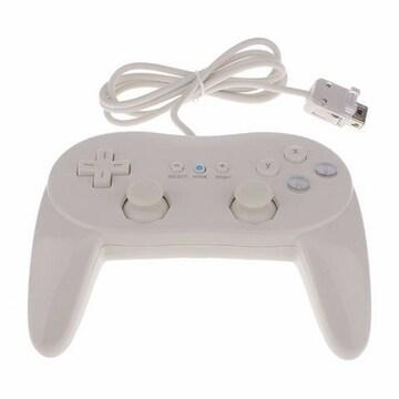 任天堂Wiiリモコンホワイト用クラシックコントローラプロ