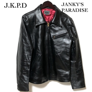 JKPD JUNKY'S PARADISE×Y'2LEATHER レザーライダース L