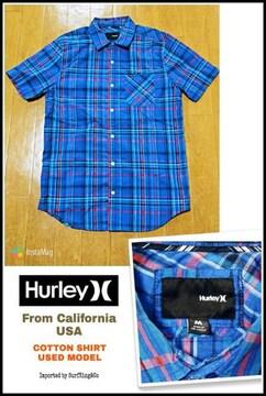 【HURLEY】コットンシャツ★本物USA直輸入モデル!希少USED激安