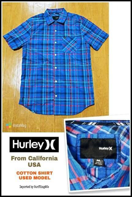 【HURLEY】コットンシャツ★本物USA直輸入モデル!希少USED激安  < ブランドの