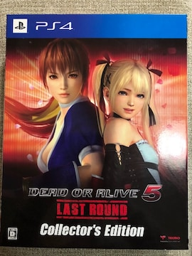DEAD OR ALIVE5 Last Round COLLECTOR'S EDITION 美品 PS4
