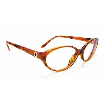 正規ブルガリメガネフレーム411ブラウン系めがね眼鏡伊