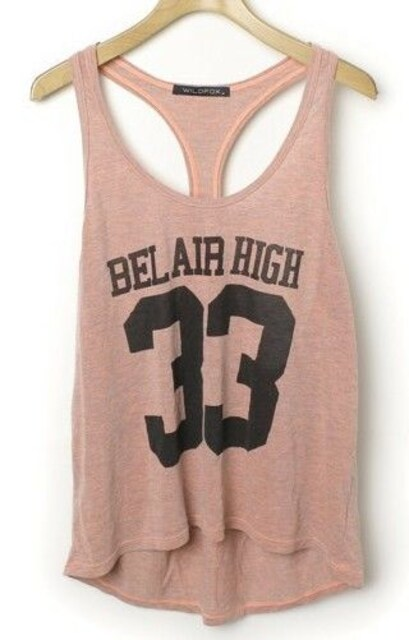 WILD FOX☆Bel Air High 33 タンクトップ < ブランドの