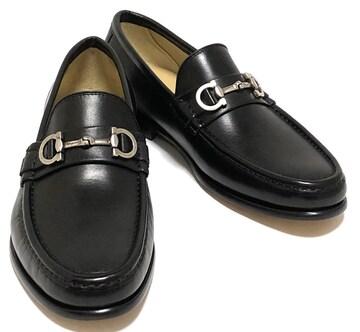未使用正規フェラガモ靴ガンチーニレザーシューズ革靴フ