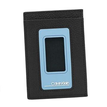 ◆新品本物◆カルバンクライン MOULDED NS カードケース(BK)『K50K505172』◆