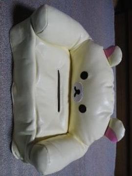リラックマレザー風ソファー型ティッシュケースカバー(コリラックマ)