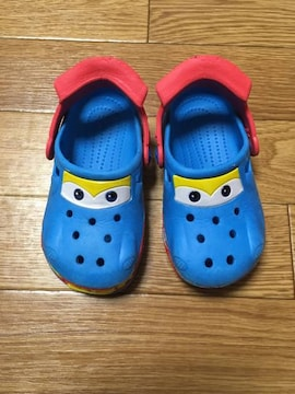 クロックス風サンダル・カーズ風・青