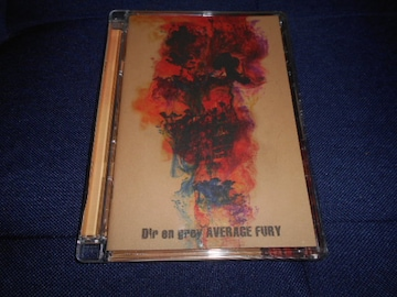 【中古DVD】Dir en grey/AVERAGE FURY