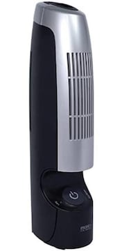 色ブラック フィルター 交換不要 空気清浄機 & マイナスイオン