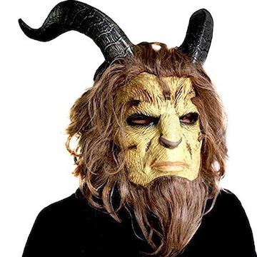 【Log Total】 大迫力! 美女と野獣 マスク 仮面 コスプレ 野獣