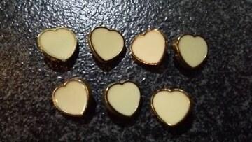 新品 INGNI イング ボタン ベージュ/鍍金 7個セット