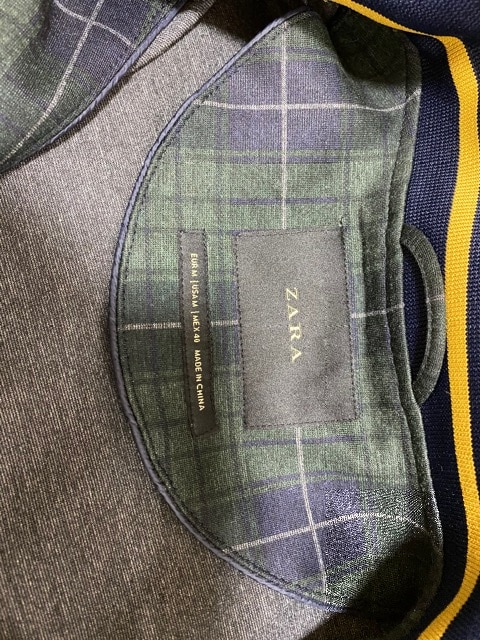 未使用 ZARA ザラ ブルゾン ジャケット 2枚セット メンズ