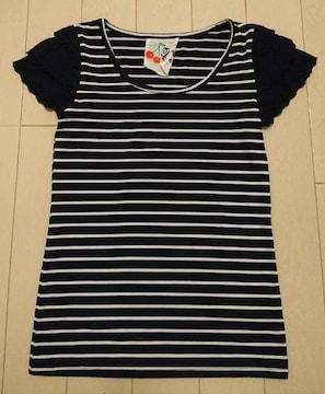 ◆titty&co☆レースリブTシャツ☆送料込み