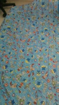 トイストーリ敷パットシングル(ロングサイズ兼用)100×205�p