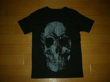 新品バックボーンBACKBONEカットソー黒BIGスカルTシャツ骸骨