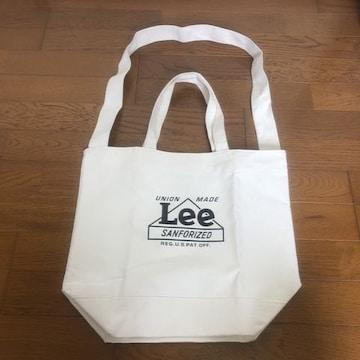 即決 新品 未使用 2way Lee トートバッグ ショルダーバッグ