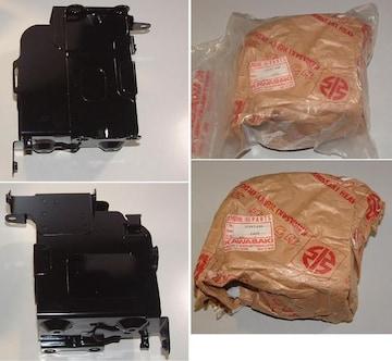 マッハ�V 500SS H1D H1E H1F バッテリーケース 絶版新品
