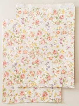 R20サイズ平袋★ロマネスク30枚☆B5サイズ花柄紙袋