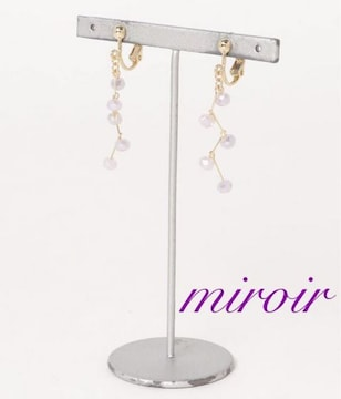 定価2,160円 Garettaスウィングイヤリング【新品】miroir