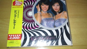 限定!ピンクレディー「TWIN BEST」(2004年発売期間限定発売盤)☆