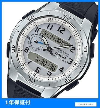 新品 即買い■カシオ 電波ソーラー腕時計 WVA-M650-7AJF国内正規