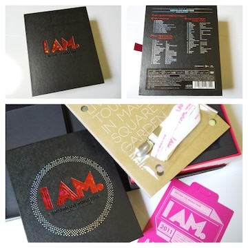 I AM★コンプリートDVD BOX(DVD4枚組)SMTOWN LIVE WORLD TOUR