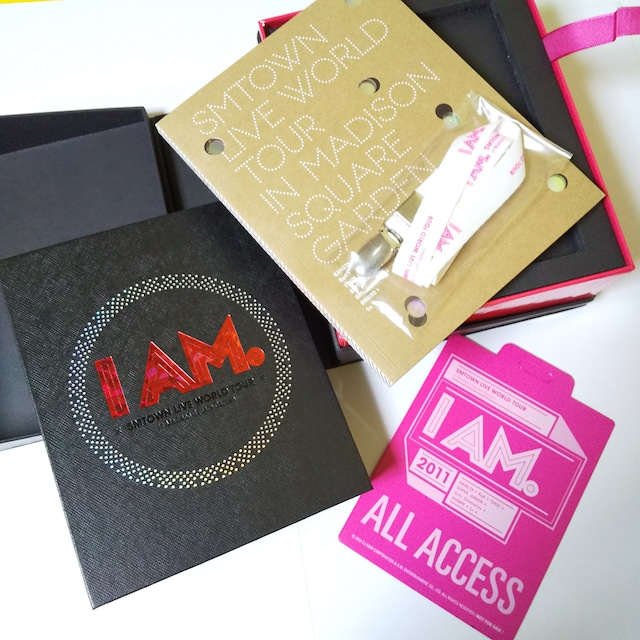 I AM★コンプリートDVD BOX(DVD4枚組)SMTOWN LIVE WORLD TOUR < タレントグッズの