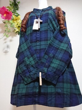 ★新品タグ10L★綿ベーシックシャツ¥5489