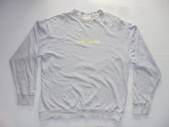 QUIKSILVER スウェットシャツトレーナー綿100%クラックプリントM