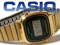 良品 CASIO ヴィンテージ【チプカシ】デジタル GOLD腕時計