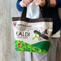KALDI カルディコーヒー ミニトートバッグ*単品
