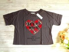 新品 Leap Lippin ハート チェック Tシャツ ロゴ