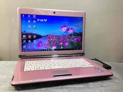 ピンクの富士通 LIFE BOOK LH700 Core i3 Win10
