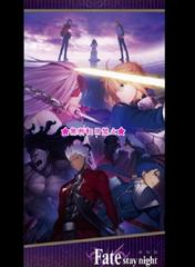 Fate stay night Heaven's Feel ビッグ クッションカバー セイバー アーチャー ラン