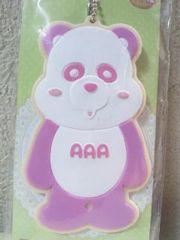 感謝祭AAA え〜パンダアイシングクッキーマスコット桃(末吉秀太)