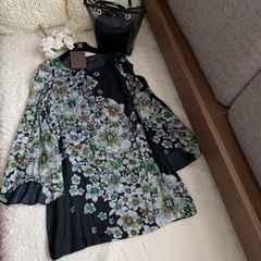 新品タグ付London購入 我が家愛用のブティック花柄ワンピース☆